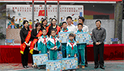 Thorn Guangzhou volunteers celebrate book house with children