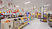 The latest innovative LED lighting will bring Wilko up to 70 percent reduction in energy costs.